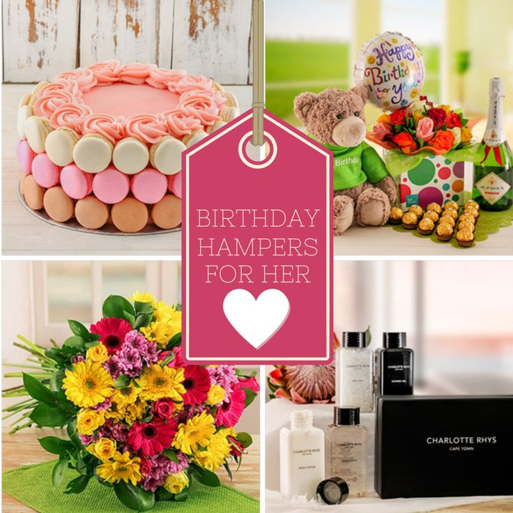 17 Best Ideas About Birthday Hampers On Pinterest