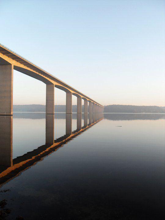 The Vejle Fjord bridge