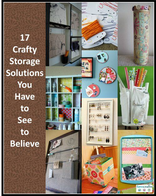 17 Crafty Storage Solutions You Have To See To Believe