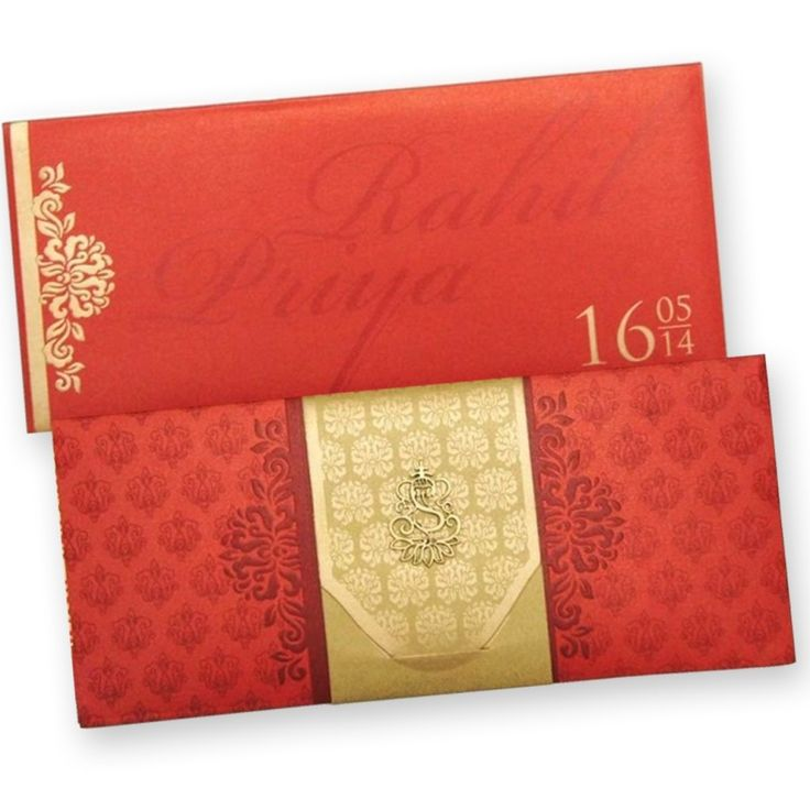 Indian wedding card 122 best Wedding Cards