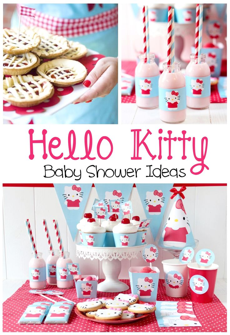 Hello Kitty Baby Shower Ideas - PinkDucky.com