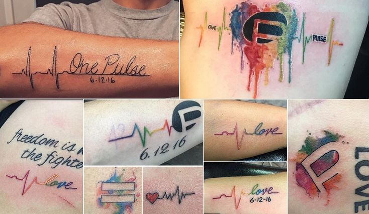 Tattoo artists in Central Florida have been overwhelmed by patrons looking to permanently honor those who died in the mass shooting at Pulse nightclub Sund