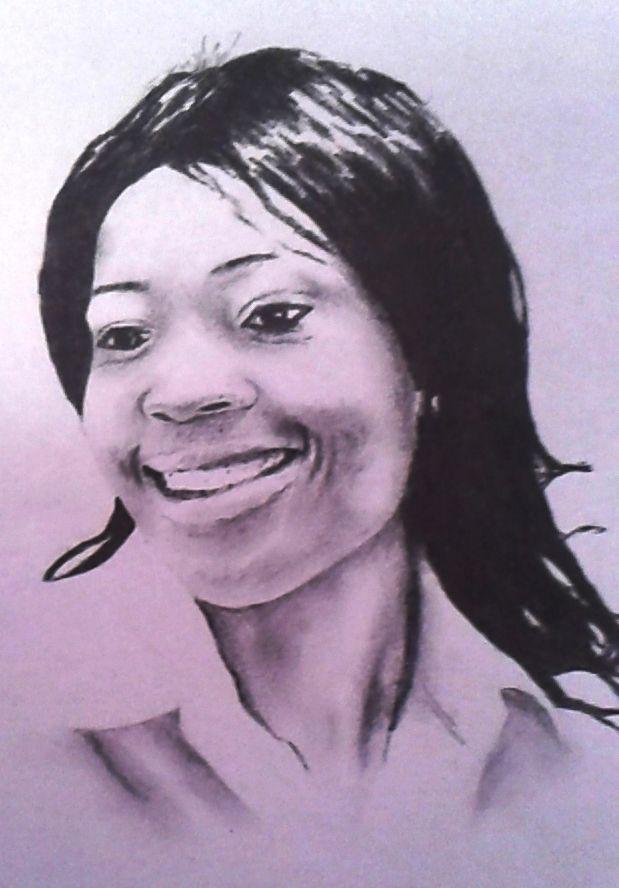 """Portrait"" Betty 2013 210 x 297 mm Pencil on paper"