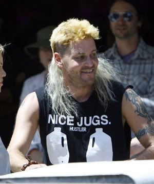 "The ""Whitrullet""  A white trash mullet.mightn't my fav"