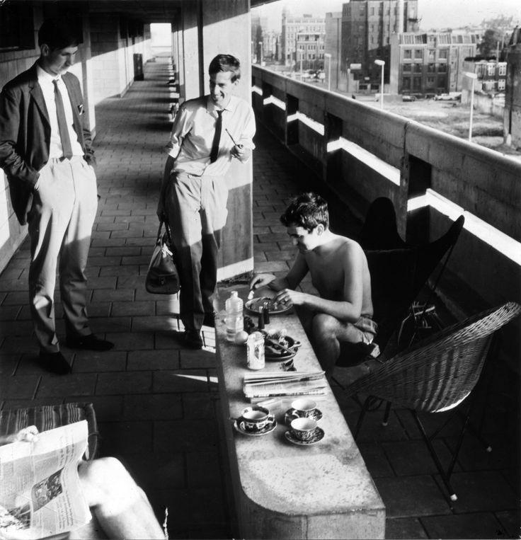 Goed Wonen 1966: artikel over studentenhuis Amsterdam