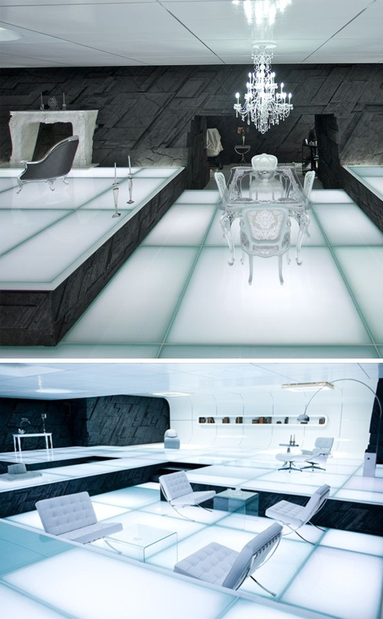 If only I could just replicate the sets of Tron Legacy in my own home...