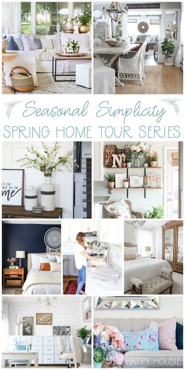 Beautiful collection of spring home decor ideas and inspiration from ...