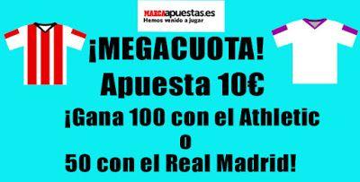 el forero jrvm y todos los bonos de deportes: marca apuestas megacuota Athletic vs Real Madrid L...