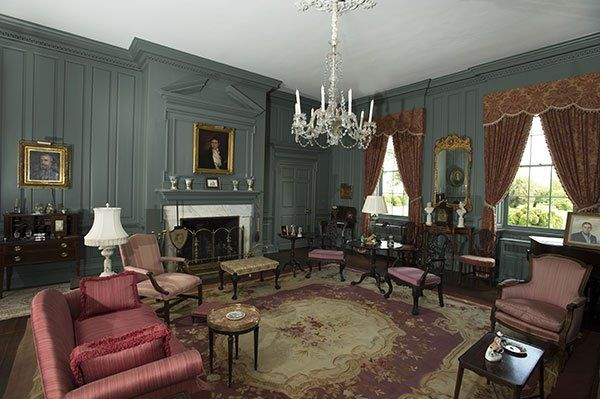 plantation interiors photos | Brandon Plantation dates to before the Revolutionary War. (Photos by ...
