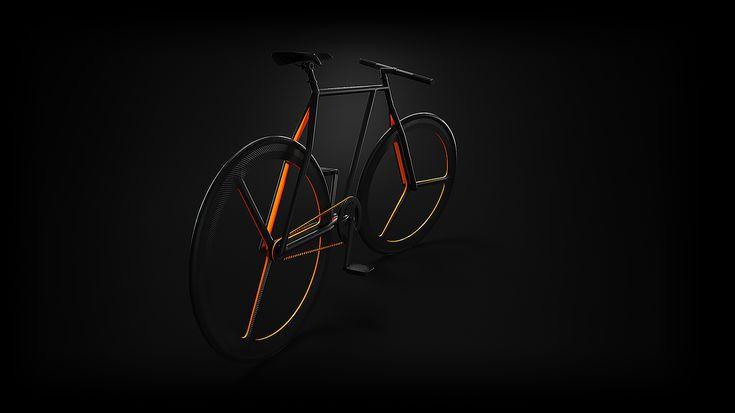 Baik - Дизайн велосипедов   Abduzeedo Design Вдохновение