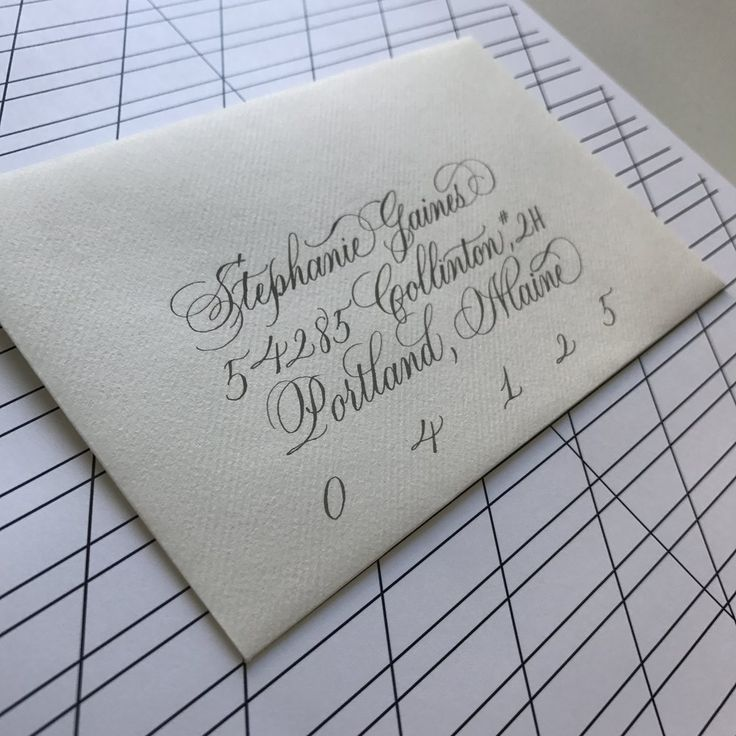 Small Envelope Addressing Template