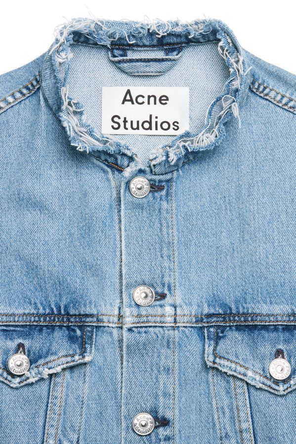 Acne Studios Who ind fray indigo                                                                                                                                                                                 More
