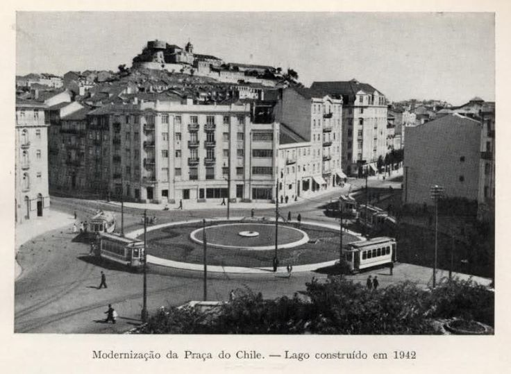 Praça do Chile - 1942