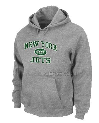 http://www.xjersey.com/new-york-jets-heart-soul-pullover-hoodie-grey.html Only$50.00 NEW YORK JETS HEART & SOUL PULLOVER HOODIE GREY Free Shipping!