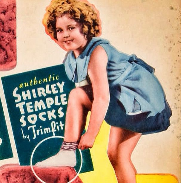 1937: The exclusive Shirley Temple for #Trimfit collection. #throwback #shirleytemple #trimfitkids #trimfitapproved #heritage #kids #parenting #kidsaccount