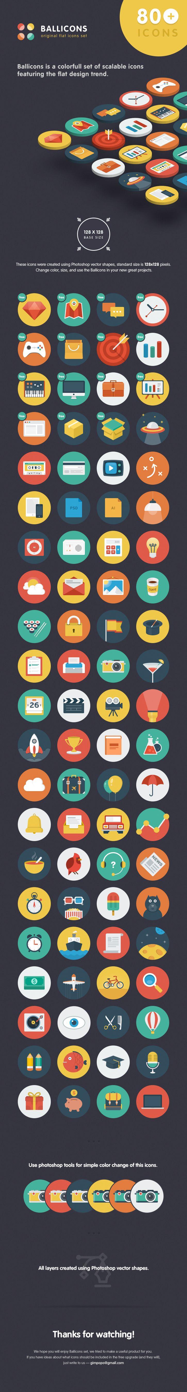 fresh icons..