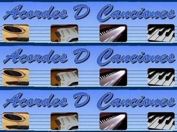 Letras y acordes de canciones para tocar con la guitarra criolla, acustica o electrica o con piano o teclado. Cifra, cifrado, chords