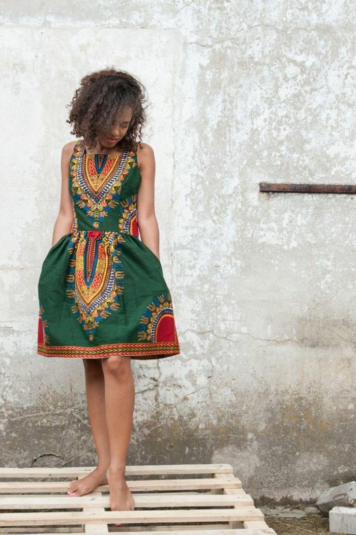 robe verte robe longue colore fille moderne tendances pour lt 2015 - Robe Longue Colore