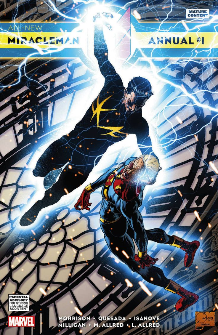 ALL NEW MIRACLEMAN ANNUAL #1 QUESADA VARIANT