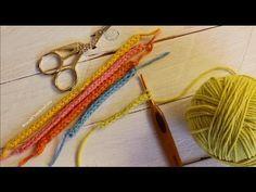 2 Formas de tejer un cordón turbular a ganchillo ¡ Icord ! cucaditasdesaluta - YouTube