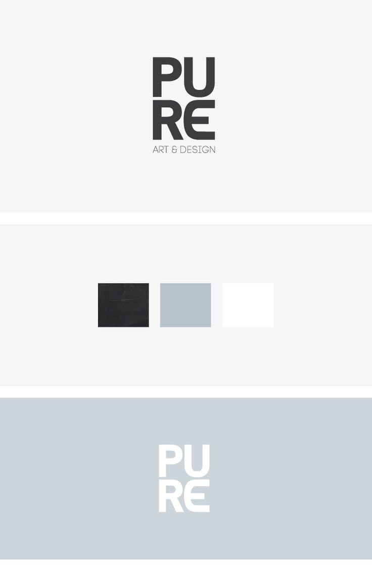 Branding PURE Art & Design, Logo, Design, Ontwerp