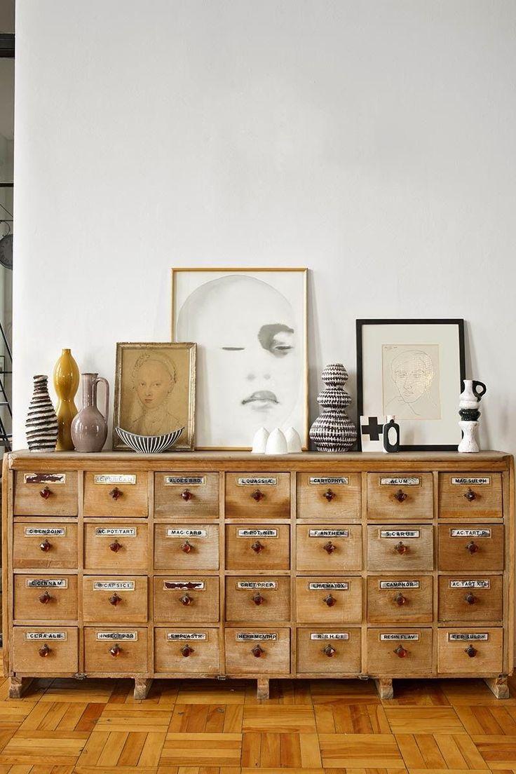 IKEA hack: een apothekerskast met een vintage look - Roomed
