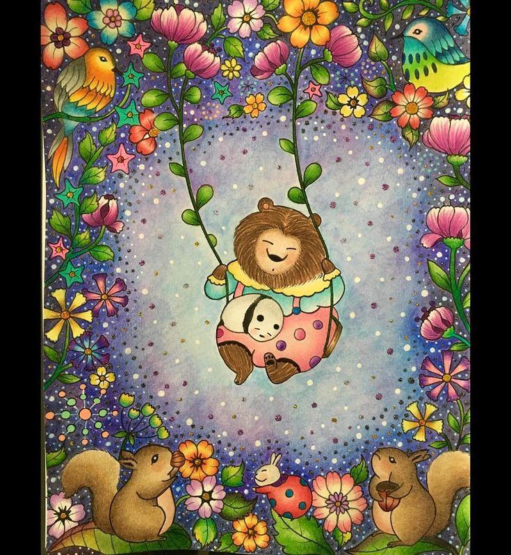 Libro Lulu Mayo A Million Bears Hecho Con Prismacolor Premier Stabilo 88 Pluma Uni Ball Signo Blanca Y Lapices De Acuarela Eeboo Amillionbears