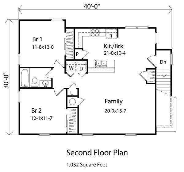 2 Car Garage Apartment Plan Number 94343 With 1 Bed 1: 71 Best Images About Garage Apartment On Pinterest