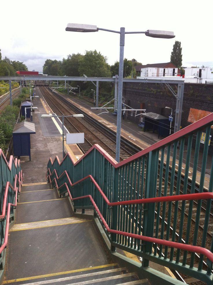 Eccles Train Station #eccles #manchester #train
