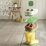 Kid's Shoes Rack  Functional, fun kid's shoes rack from Japan.  $29.50