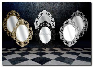 Ovale spiegel Assunta