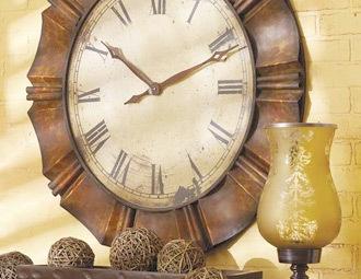 CBK Home: Clocks Wall, Wall Decor, Irons, Decor Ideas, Antiques Copper, Romans Numerals, Wall Clocks, Frames Wall, Antiques Gold
