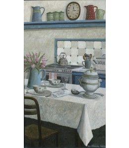 Cuisine.  Stuur een kaart van Laetitia de Haas. https://www.kunstkaartjesturen.nl/collectie/laetitia-de-haas-cuisine-zonder-jaar