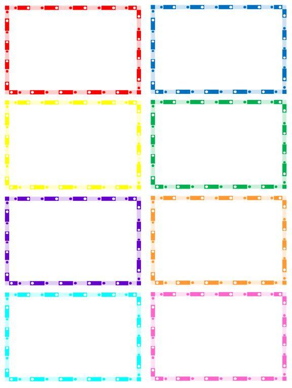 Art Borders Birthday Draw Clip 9 Easy