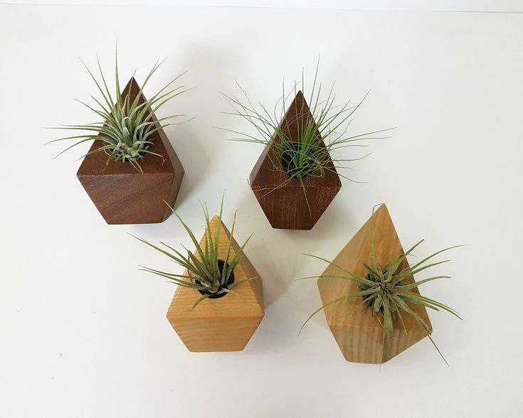 Diamond Wooden Planters #pintowinMH