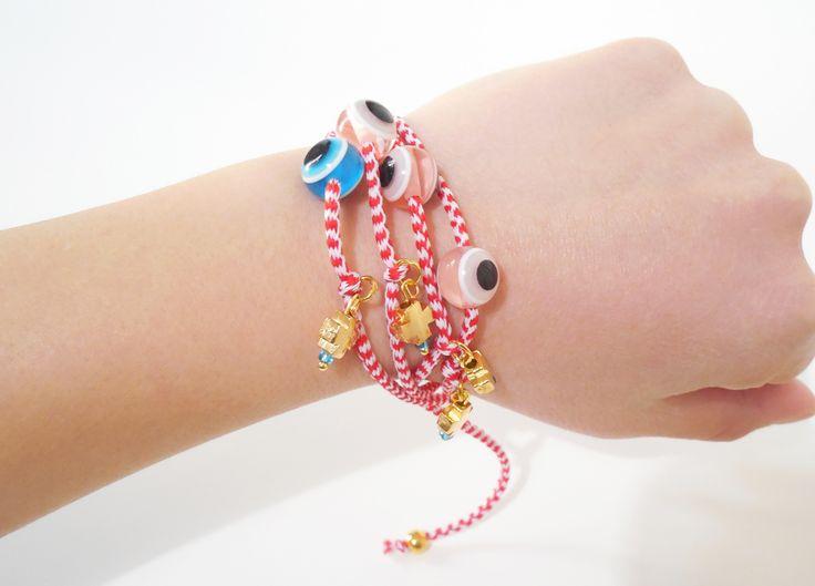 march bracelets - greek martakia