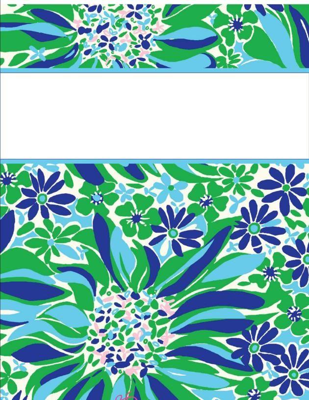 binder covers27 http://happilyhope.wordpress.com/2013/07/25/my-cute-binder-covers/