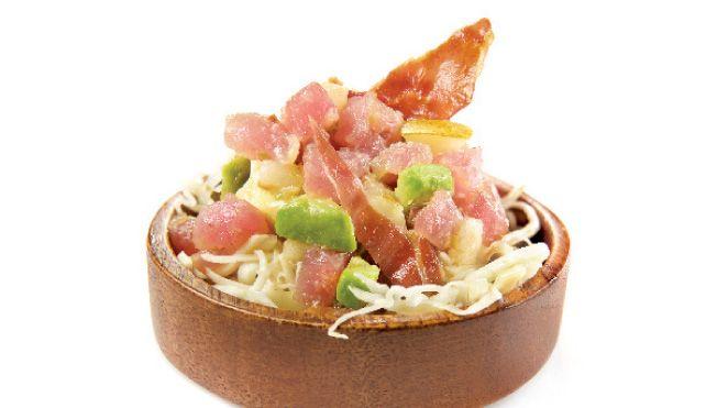Tartare de thon à la sauce hoisin et rémoulade   Recette IGA