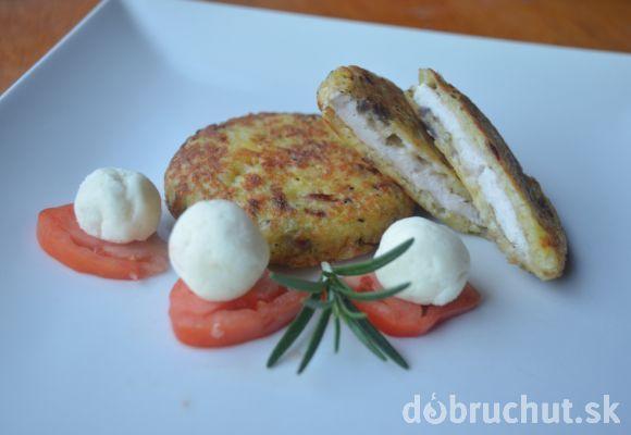Fotorecept: Kuracie zemiakové placky