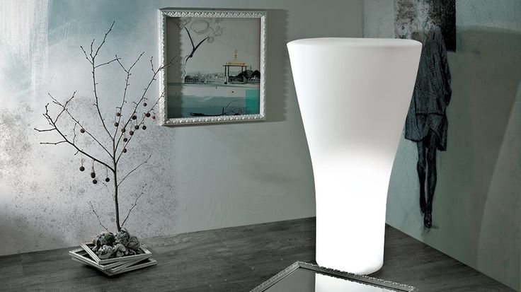 """""""Sixty Lamp"""" is a bright vase with a retro, and at the same time, innovative design."""