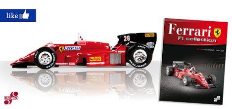 #Ferrari 126 C4 di René Arnoux #edicola #F1 #collezione #modellini