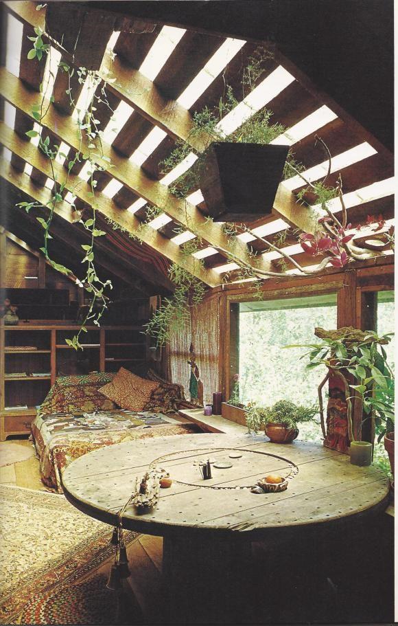 barn converted into living space #boho #decor
