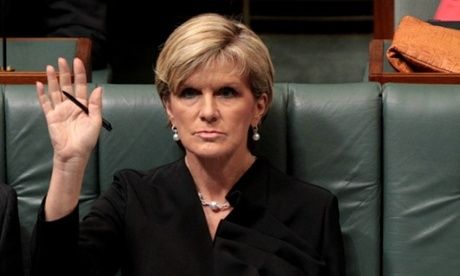 This face Julie Bishop may of made when she told members of the Major economies forum at weeks UN Summit for Climate Change that Australia was intending to stick with its low target of 5% reduction of greenhouse gases by 2020. Claiming Australia only represented 1.5% of worldwide emissions. Barack Obama keynote speech included that only can the fight against climate change be successful with a joint effort from every nation.