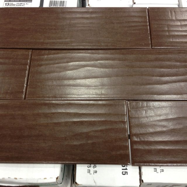 ceramic tile that looks like wood | These are actually ceramic tiles at  Lowes They look - 48 Best Images About Tile Floor On Pinterest Tampa Florida