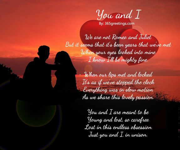 Short Romantic Poems for Lovers | Romantic Poems - Messages, Wordings and Gift Ideas