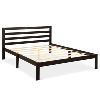 Best Details About Queen Size Bed Frame Modern Solid Wood 400 x 300