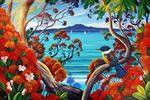Rangitoto Island View by Irina Velman - prints