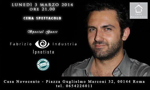 Ipnotista ipnosi Fabrizio Industria Mentalista Napoli