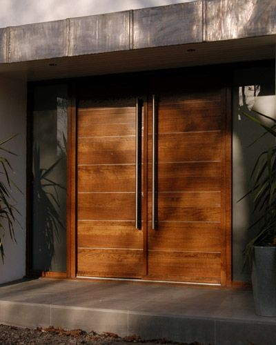87 best images about doors on pinterest front door for Entry double door designs