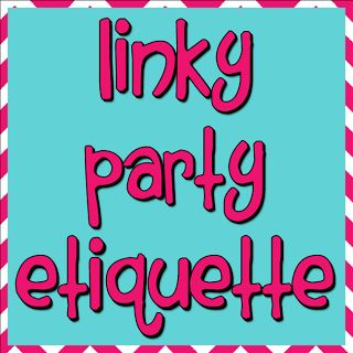 Linky Party Etiquette from DianaRambles.com @Diana Rambles #inLinkz #linky tools #bloghop